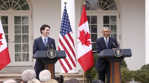 trudeau obama announcement