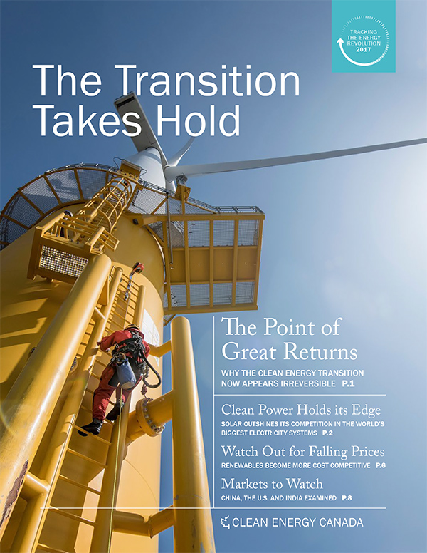 clean energy transition takes hold cover