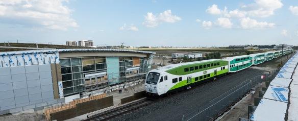 GO transit station