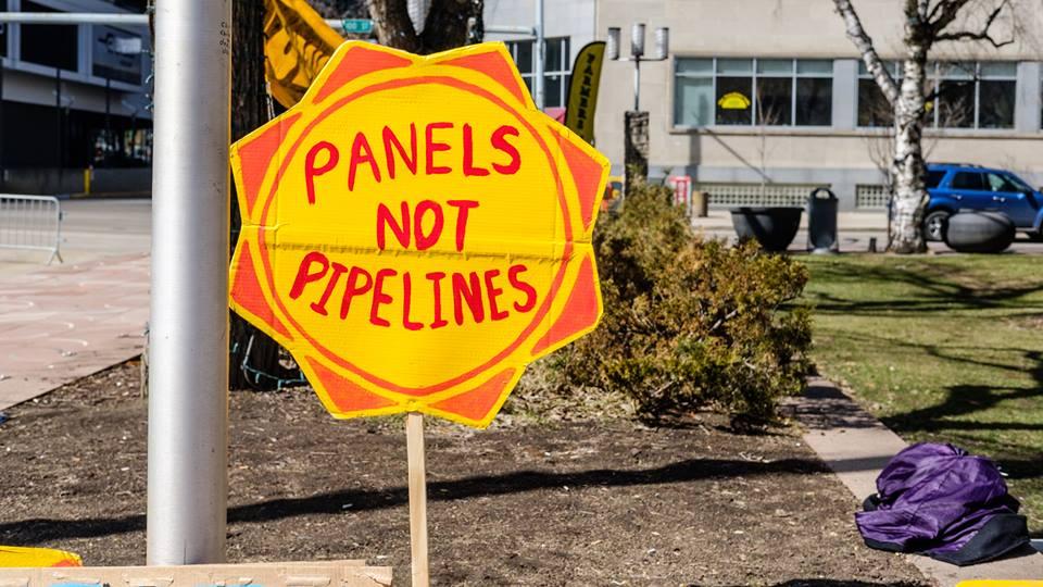 Panels not pipelines by Abdul Malik