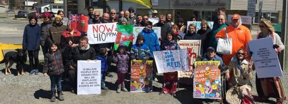 Sudbury climate march