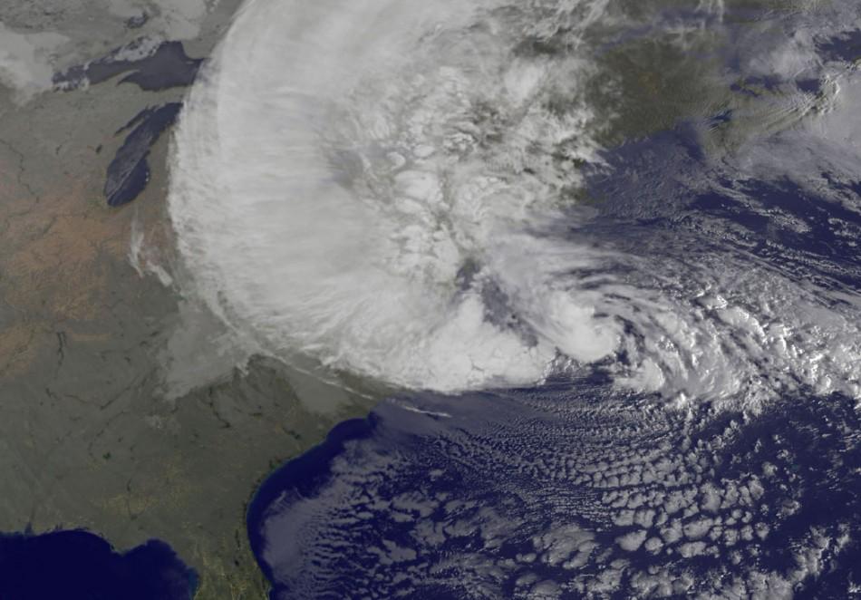 Hurricane Sandy Oct 29 2012