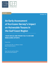 Hurricane Harvey survey cover