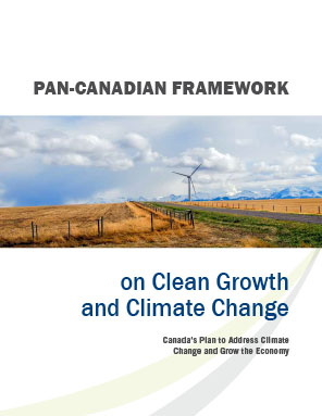 pan-canadian framework on clean growth cover