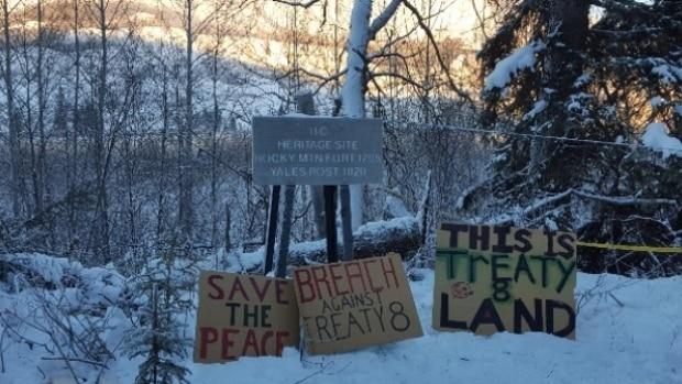 site-c-protest-camp