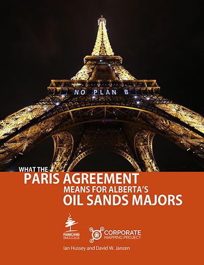 Parkland report big oil cover