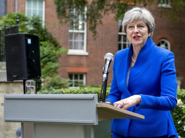 Theresa May 2018
