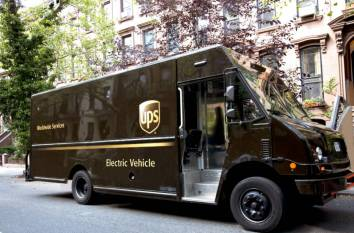 UPS electric truck