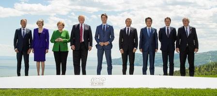 G7 leaders 2018