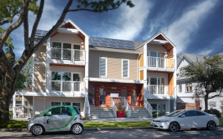 passive house exterior Vancouver