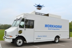 workhorse electric van and drone