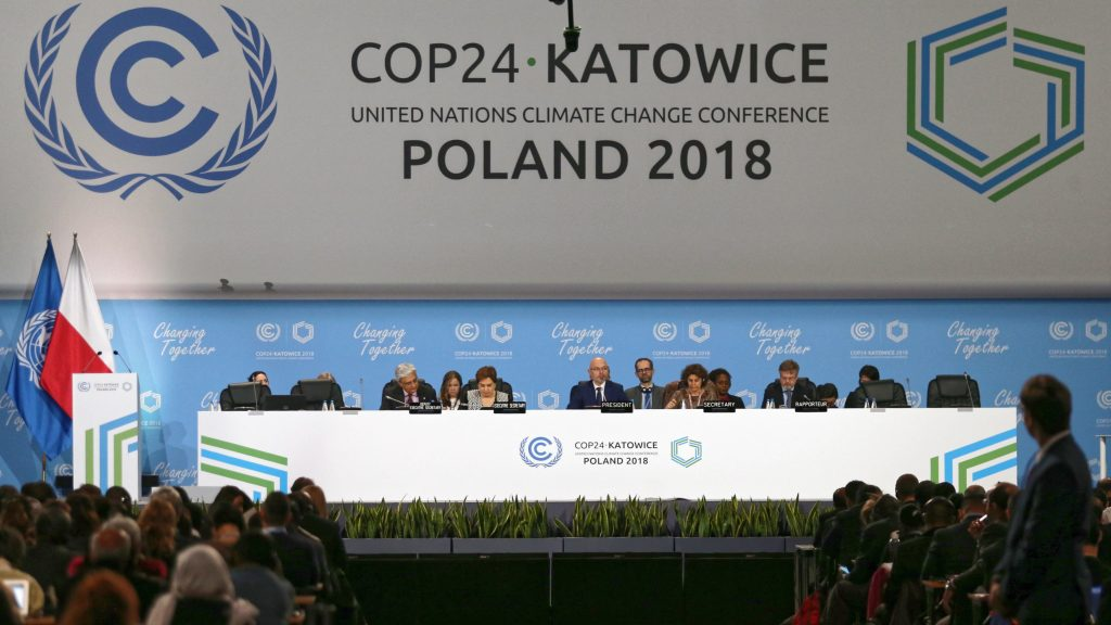 COP24-table of delegates