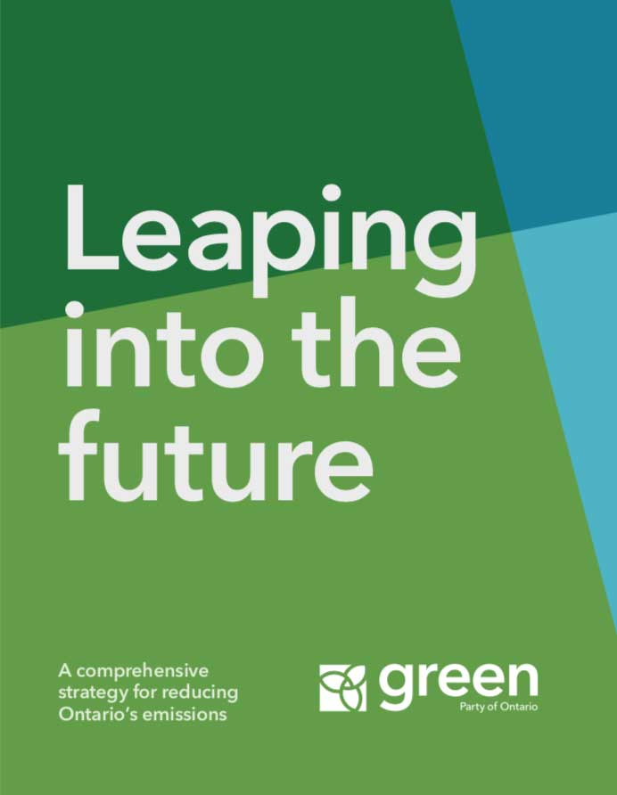 Green party 2018 leaping into the future