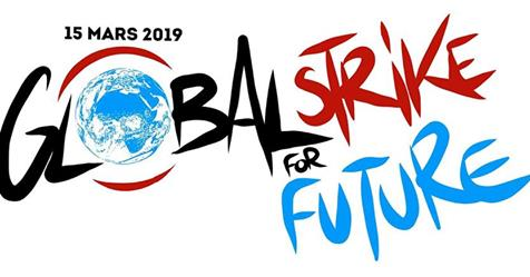 climate strike global logo