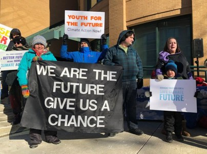 climate strike kitchener