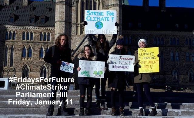 climate strike ottawa