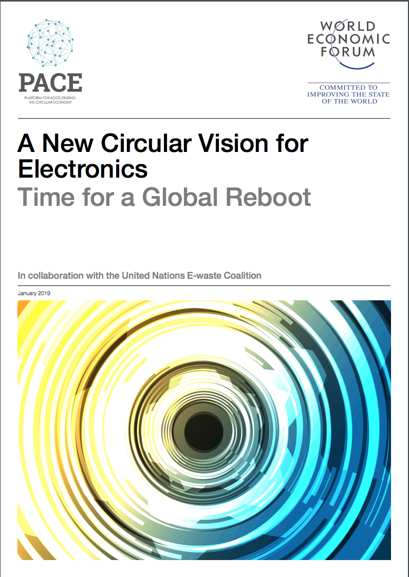 new circular vision for electronics - 2019 report