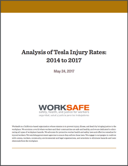 tesla injury rates