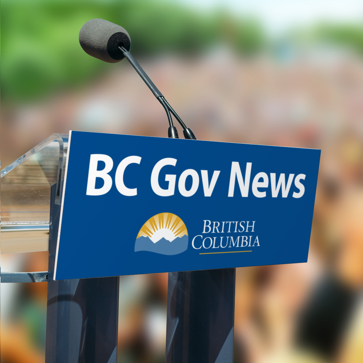BC government news open mic