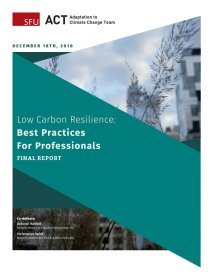 low carbon resilience cover