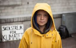 greta thunberg yellow