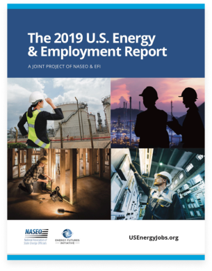 US energy jobs report 2019