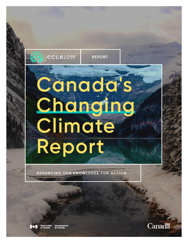 canada's changing climate cover