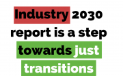 Industry 2030 just transition graphic