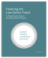 financing the low carbon future