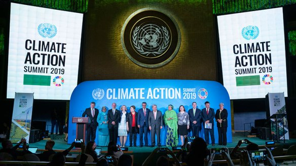 UN summit climate action 2019