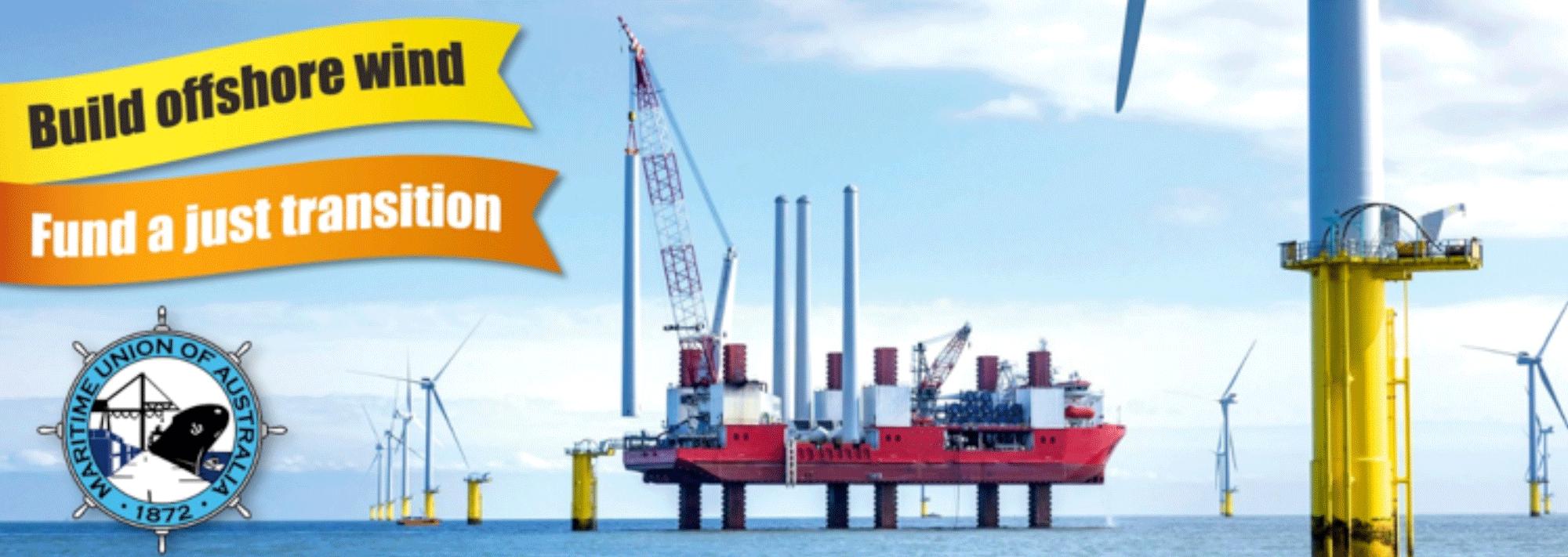 Australia offshore wind campaign
