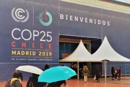 COP25 entrance