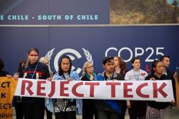 cop25 reject teck