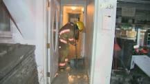 flooding firefighter