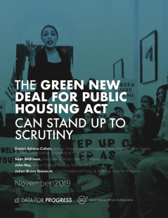 green new deal public housing