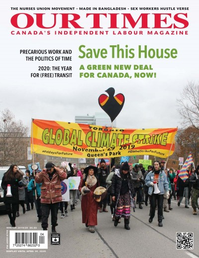 our times jan2020cover re green new deal