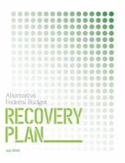 ccpa alternative fed budget recovery plan